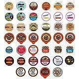 Flavored Coffee Single Serve Cups For Keurig K cup Brewers Variety Pack Sampler, 40 count (Version 1)