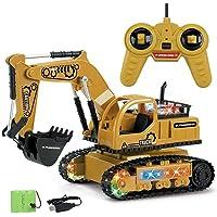 yummyfood RC Excavadora,RC Excavator Toy, Excavadora De Control