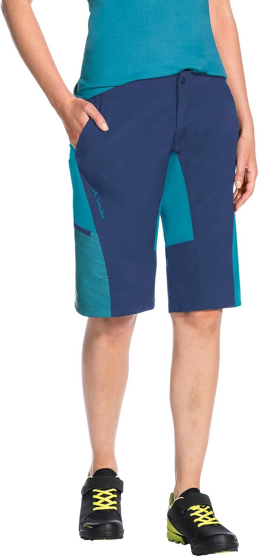 VAUDE Women s Downieville Pantalones Cortos