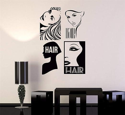 Stickers Muraux Stickers Muraux 3d Salon De Coiffure Moderne