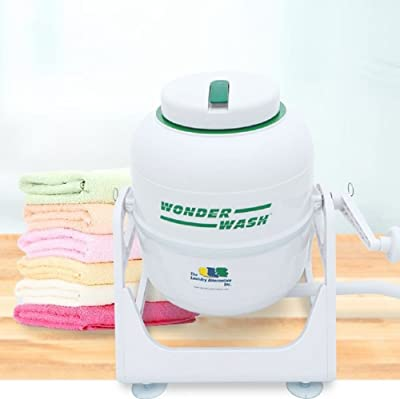 The Laundry Alternative Wonderwash Non-electric Portable Compact Mini Washing Machine Review