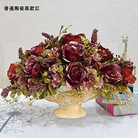 Astounding Zhudj Fake Flowers Living Room Simulation Flower Set The Home Remodeling Inspirations Cosmcuboardxyz