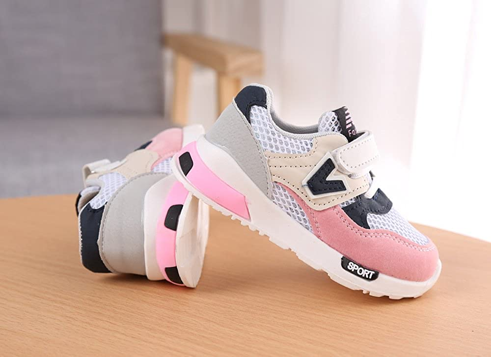 Quality.A Mesh Sneakers boy Girl Tennis Shoes Lightweight Walking Shoes Running