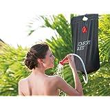 Bestway Réservoir/Douche solaire portable avec thermomètre 20 L/41 x 58 cm