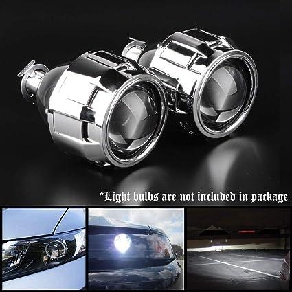 Kit de 2 Lentes de proyector Mini Bi-Xenon para los Faros (Luces ...