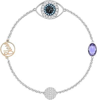 Swarovski Remix Collection 5365749 Bracelet avec symbole œil Violet