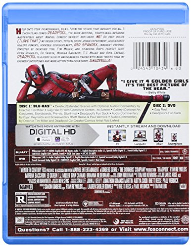 Deadpool Blu Ray Buy Online In Uae Blu Ray Products In The Uae See Prices Reviews And