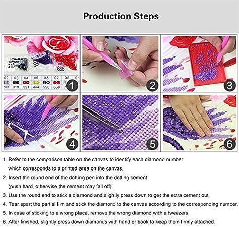 Full Square//Round Drill 5D Diamond Painting Diy Diamond Embroidery Sleeping Dancer Diamond Mosaic Home Decor Gift-Round 40X30Cm