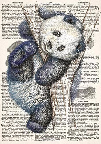 Panda Dictionary Art Journal with Chinese Proverbs and Inspirational Quotes (7x10 Inches): A Classic 7 x 10 Inch Lined Notebook/Composition Book with ... and Other Gifts for Women and Teen Girls)