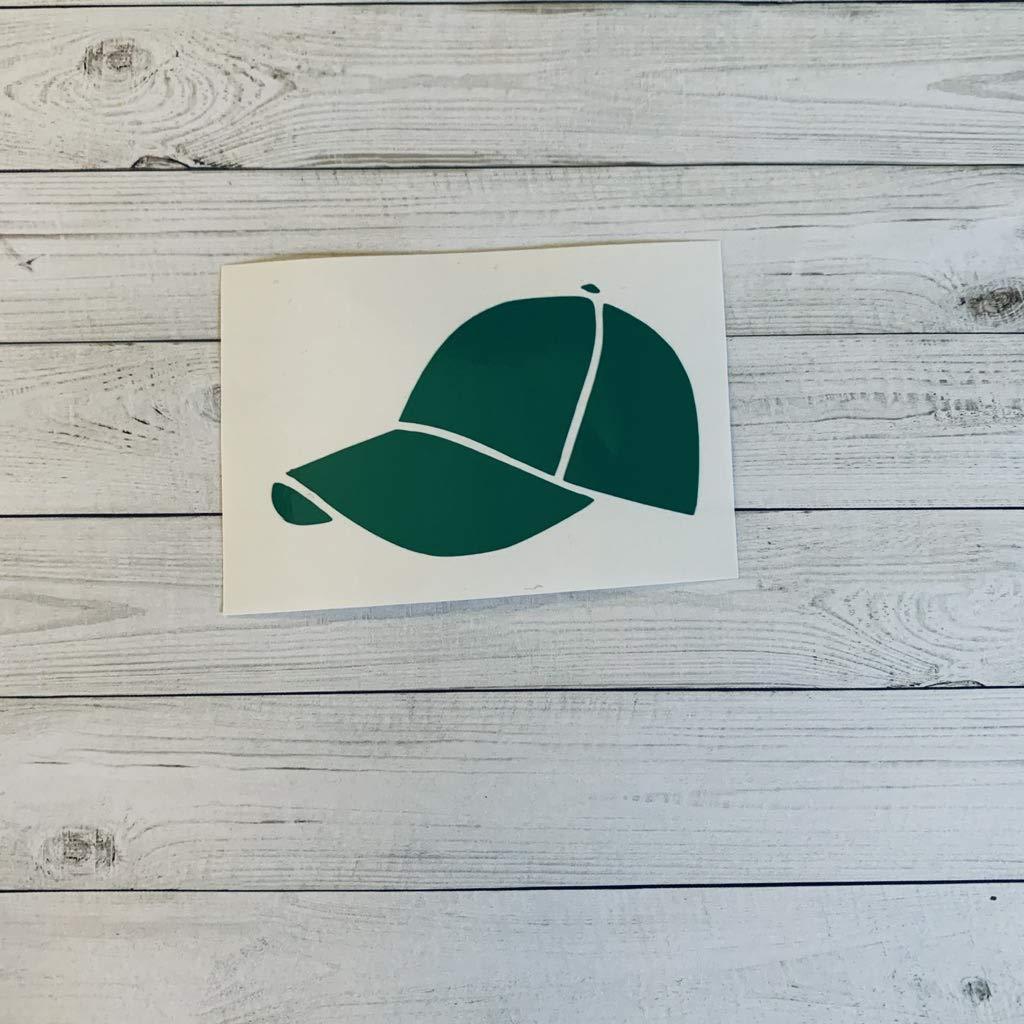 Baseball Hat Vinyl Sticker, Baseball Decorations, Hat Theme, Cloths Decorations, Hat Party Supplies, Hat Sticker, Decal, Glitter, Metallic, Holographic