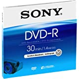 Sony 5DMR30A 8cm Recordable Once DVD-R - Pack of 5