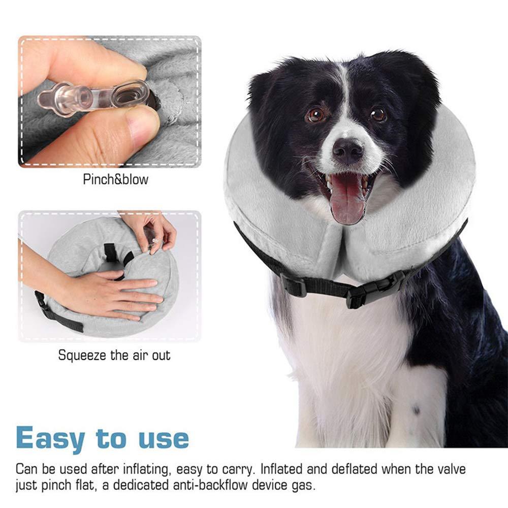 Amazon.com: HSheng TPK - Collar hinchable protector para ...