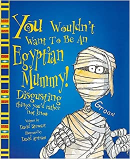 Image result for You wouldn't want to be an egyptian mummy