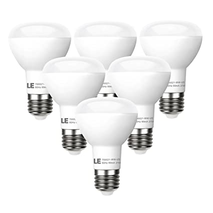 Le 6 pack br20 led light bulbs dimmable 45w incandescent bulbs le 6 pack br20 led light bulbs dimmable 45w incandescent bulbs equivalent 8w aloadofball Choice Image