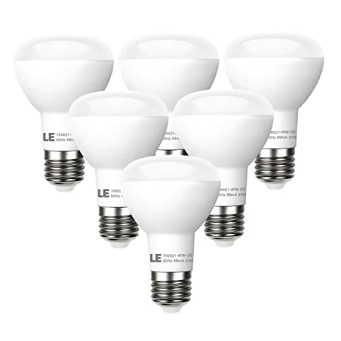 Le 6 pack br20 led light bulbs dimmable 45w incandescent bulbs le 6 pack br20 led light bulbs dimmable 45w incandescent bulbs equivalent 8w aloadofball Gallery