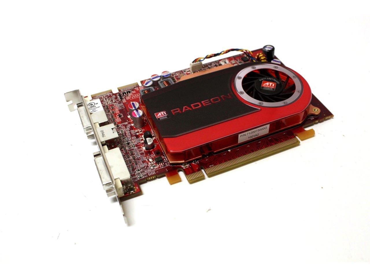 M639J - Video Card ATI Radeon HD4670 512MB GDDR3 PCI-E x16 2xDVI; S-Video Full Height