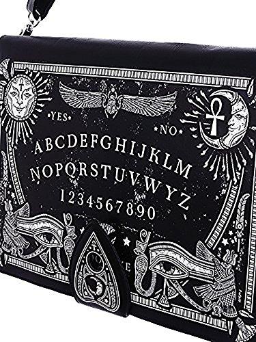 Gothic Schultertasche Tasche Umhängetasche Ouija Board schwarz Resytle