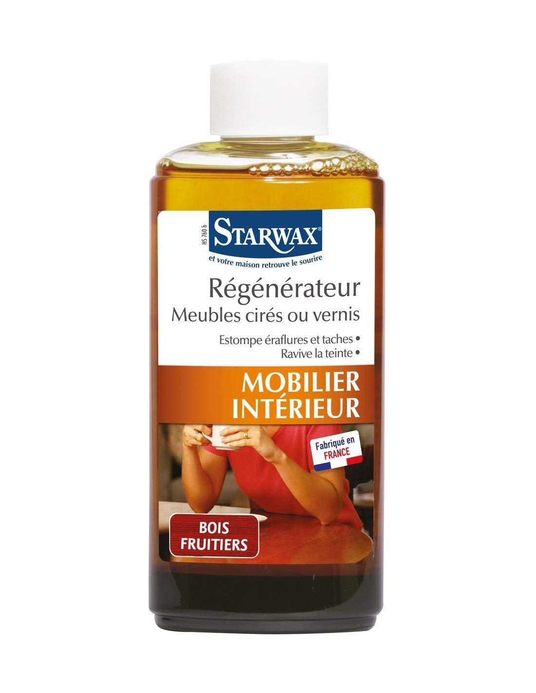Régénérateur Meubles Cirés Et Vernis Starwax (Bois Fruitier): Amazon.fr:  Cuisine U0026 Maison