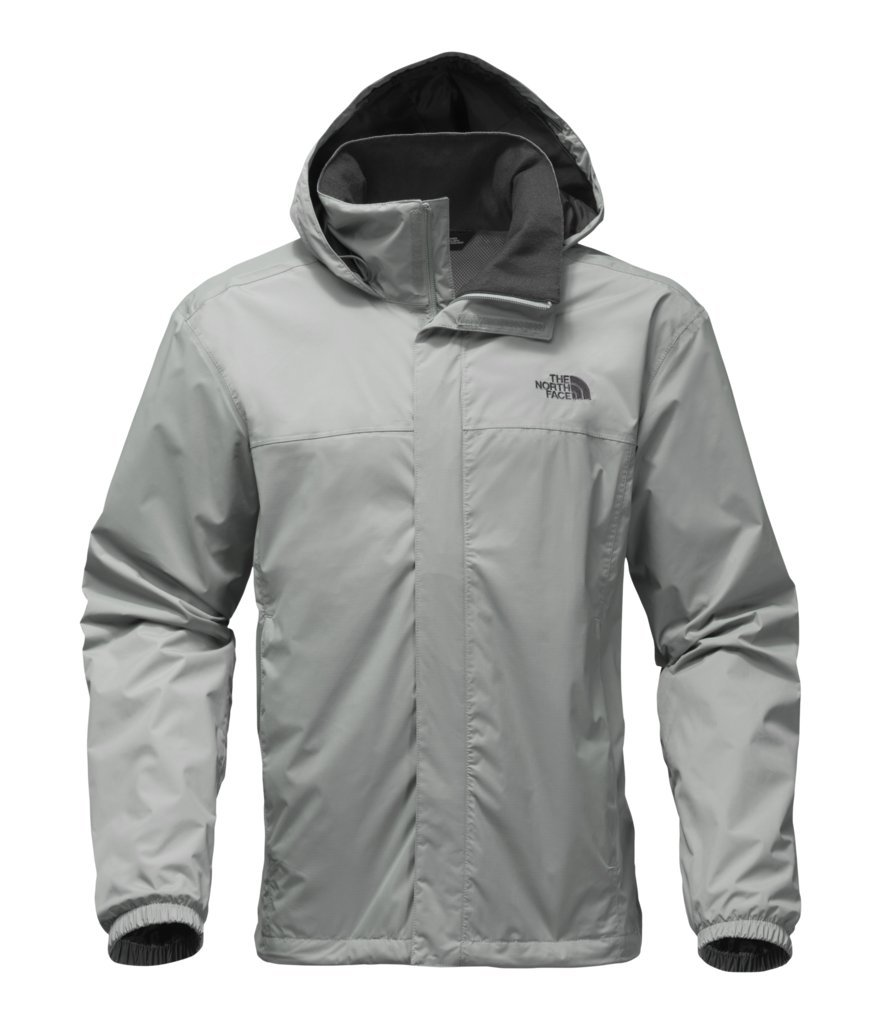 The North Face Men's Women's Resolve 2 Jacket - Monument Grey/Asphalt Grey - M (Past Season) by The North Face