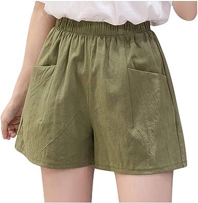 ajhgf Shorts for Women Casual Summer Culottes Wide Leg Pants Comfy Sleep Pants