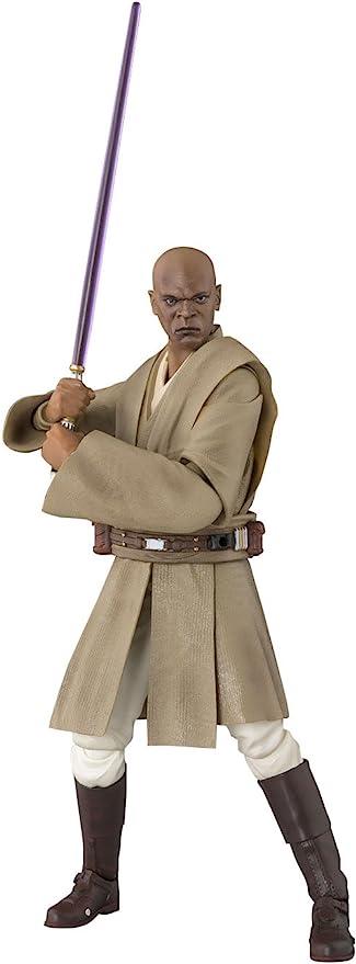 New Bandai S.H.Figuarts Star Wars Mace Windu Figure