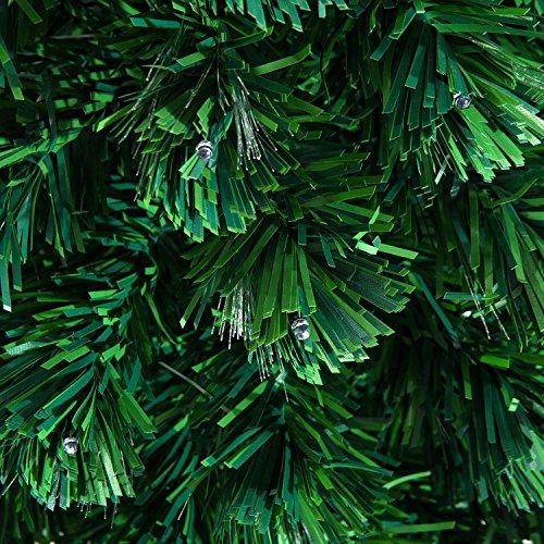 HomCom-PVC-Needles-Rotating-Prelit-Artificial-Pine-Christmas-Tree