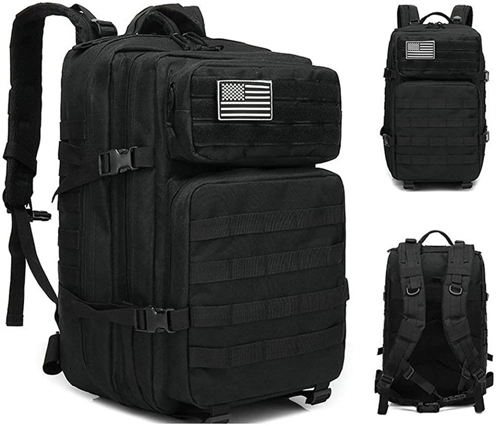 ANTARCTICA Military Tactical Backpack 45L 3 Day Assault Pack Molle Bag Rucksack