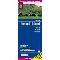 Islandia, mapa impermeable de carreteras. Escala 1:425.000. Reise Know-How.
