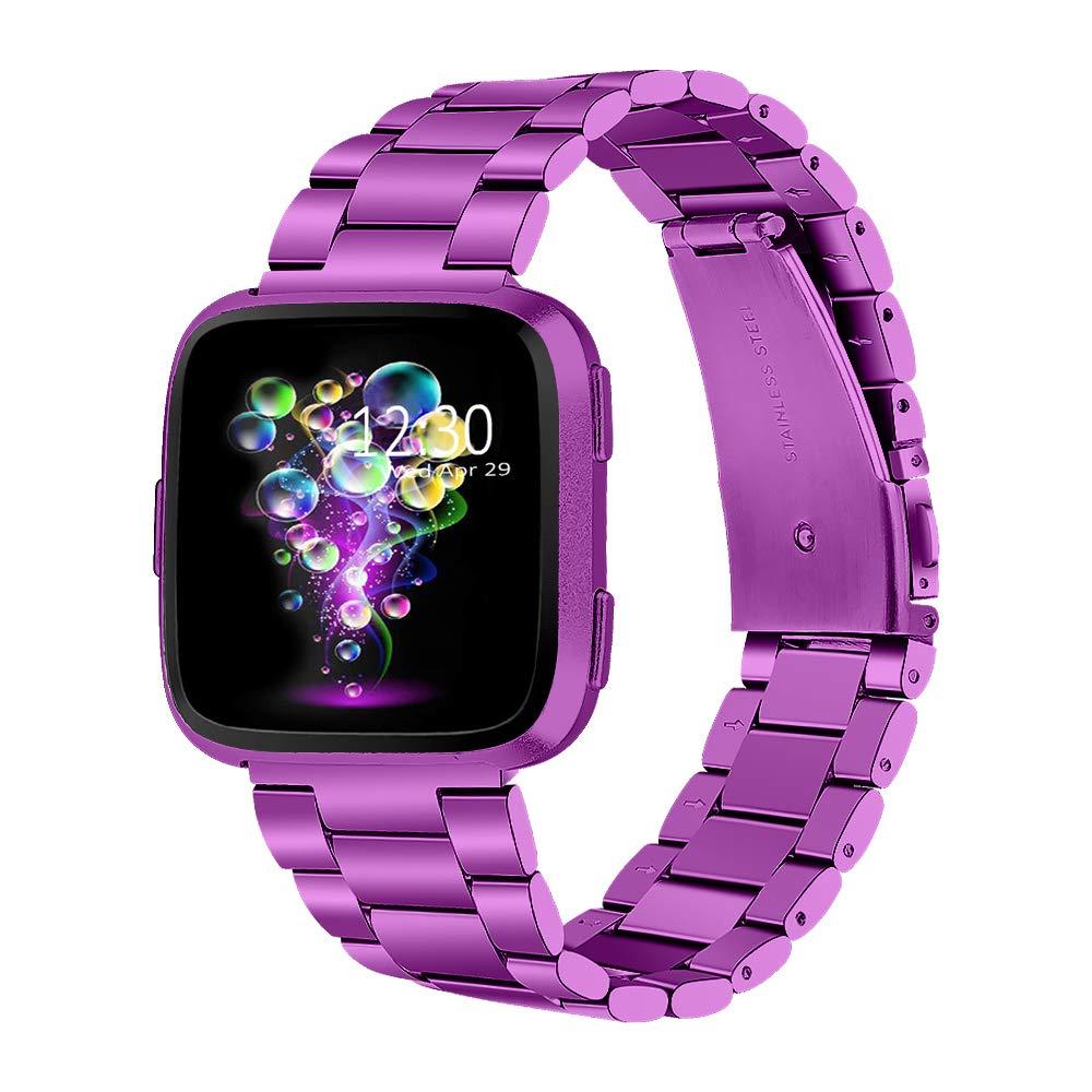 Malla Violeta Para Fitbit Versa//fitbit Versa Lite