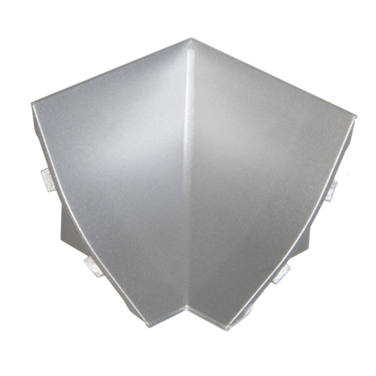 HOLZBRINK Rinconera Interior PVC para Copete de Aluminio Listón de Acabado Aluminio Copete de Encimera de Cocina 23x23 mm: Amazon.es: Bricolaje y ...