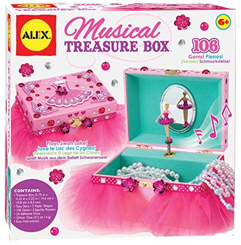 ALEX Toys Craft Musical Treasure Box - Ballerina Musical Treasure Box