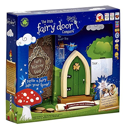 The irish fairy door company pink arched door includes for My irish fairy door