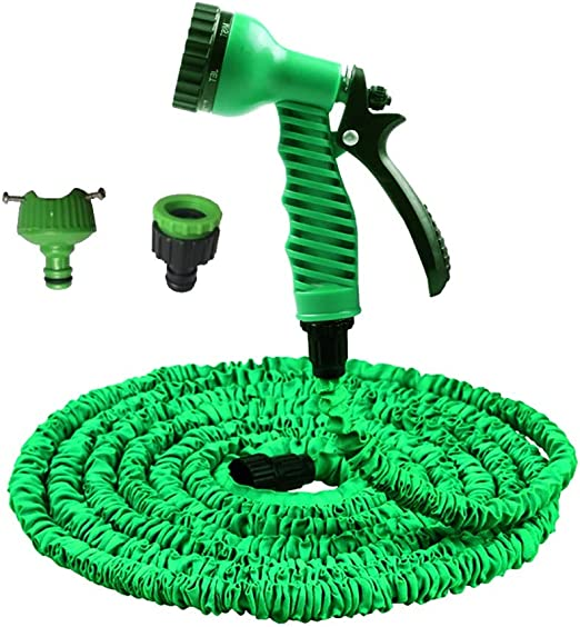 YLYP Manguera Extensible para Jardín, Manguera para Agua De Jardín3 Veces para Expandir Manguera Flexible Liviana Mágica, Tubo con Pistola De 7 Funciones (Verde) (Color : 150FT): Amazon.es: Hogar