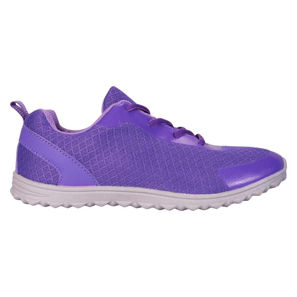 Mountain Warehouse Lightweight Kids Trainers - Childrens Summer Shoes Purple 3 Child US