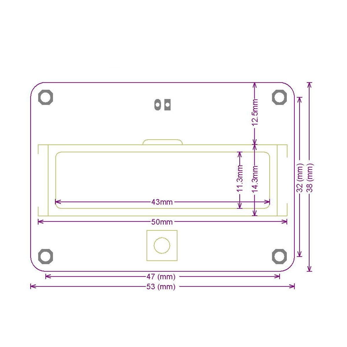 Battery Monitor Meter Drok Dc 8 63v 12v 24v 36v 48v Lcd Lead Acid Indicator Wiring Diagram