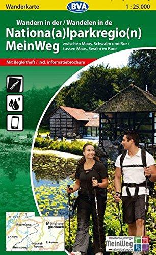 Wanderkarte BVA Wandern in der Nationalparkregion MeinWeg 1:25.000, reiß- und wetterfest, GPS-Tracks Download, mit Begleitheft: zwischen Maas, Schwalm und Rur (Niederländisch) Landkarte – Folded Map, 1. März 2012 reiß- und wetterfest BVA BikeMedia GmbH 387