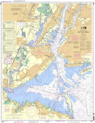 NOAA Chart 12327: New York Harbor