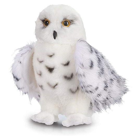 Holspe White Owl Plushie, Phayee Cute Plush Snowy Owl ...