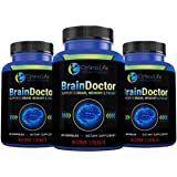 Brain Booster, Brain & Focus Supplement, Maximum Strength Brain Booster - Maximum Strength Brain Focus & Memory Booster By Brain Doctor - Increase Clarity And Energy, Improve Mood, No Fillers, Gluten