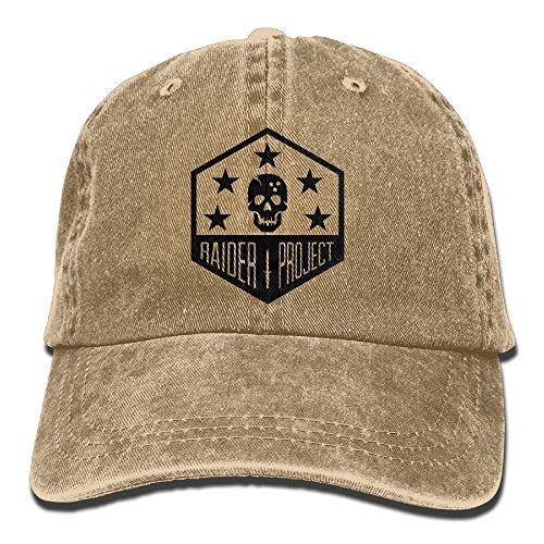 Brown Raider Adult Hat (Marine Raiders Unisex Adult Adjustable Gym Dad Hats)