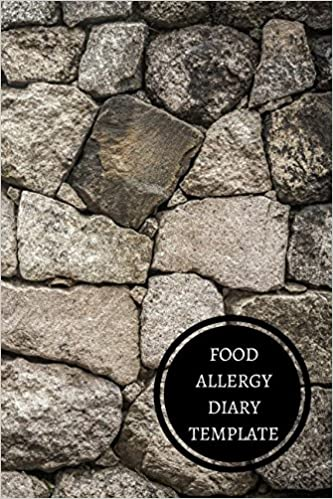 Food Allergy Diary Template For All Journals 9781521320402 Amazon Com Books