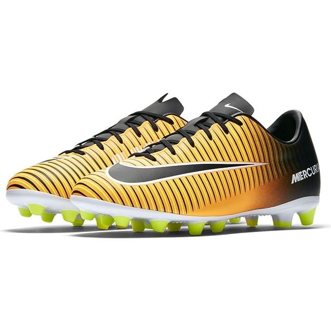 Nike - Botas de fútbol para niño amarillo amarillo 36,5: Amazon.es: Ropa y accesorios