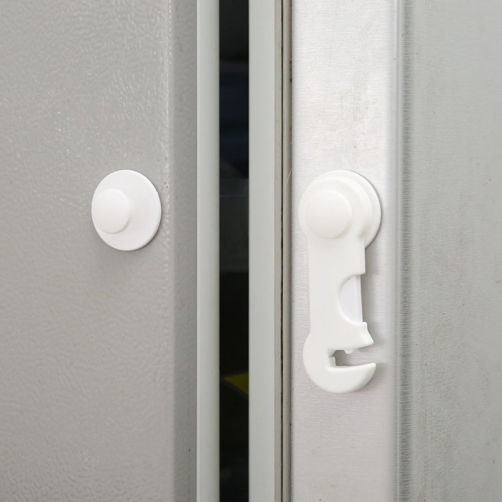 Yeahibaby 5pcs cerraduras de seguridad para beb/és cerradura de prueba multiprop/ósito para gabinete armario gabinete refrigerador sin herramientas necesarias