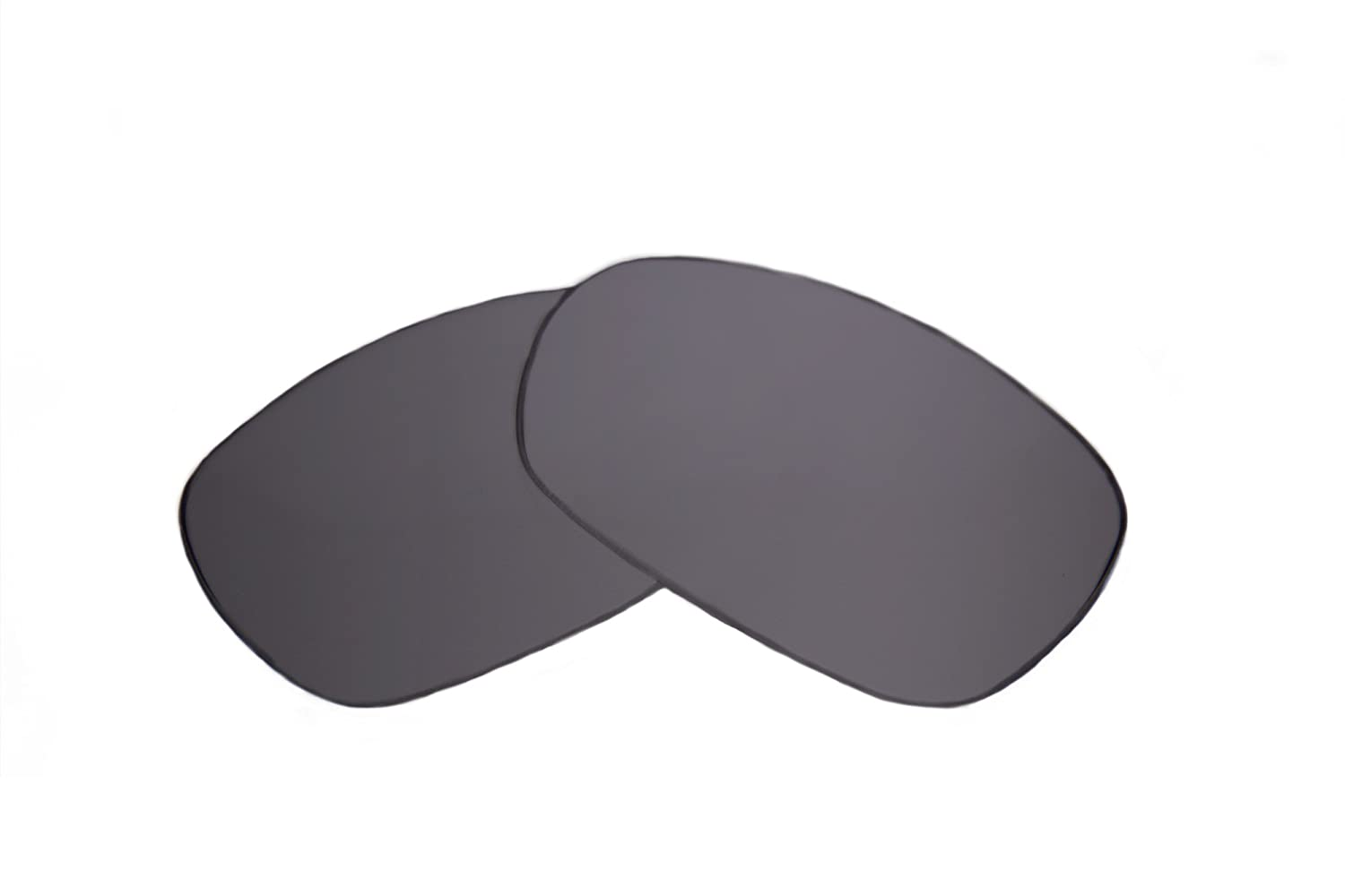 Ultimate Silver Mirror Black Pair-Regular SFx Replacement Sunglass Lenses fits Porsche P8495 64mm Wide