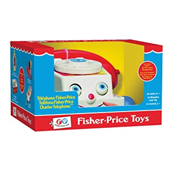 Fisher-Price AKFPTEL01ML - Teléfono de Tiro, Color Negro ...