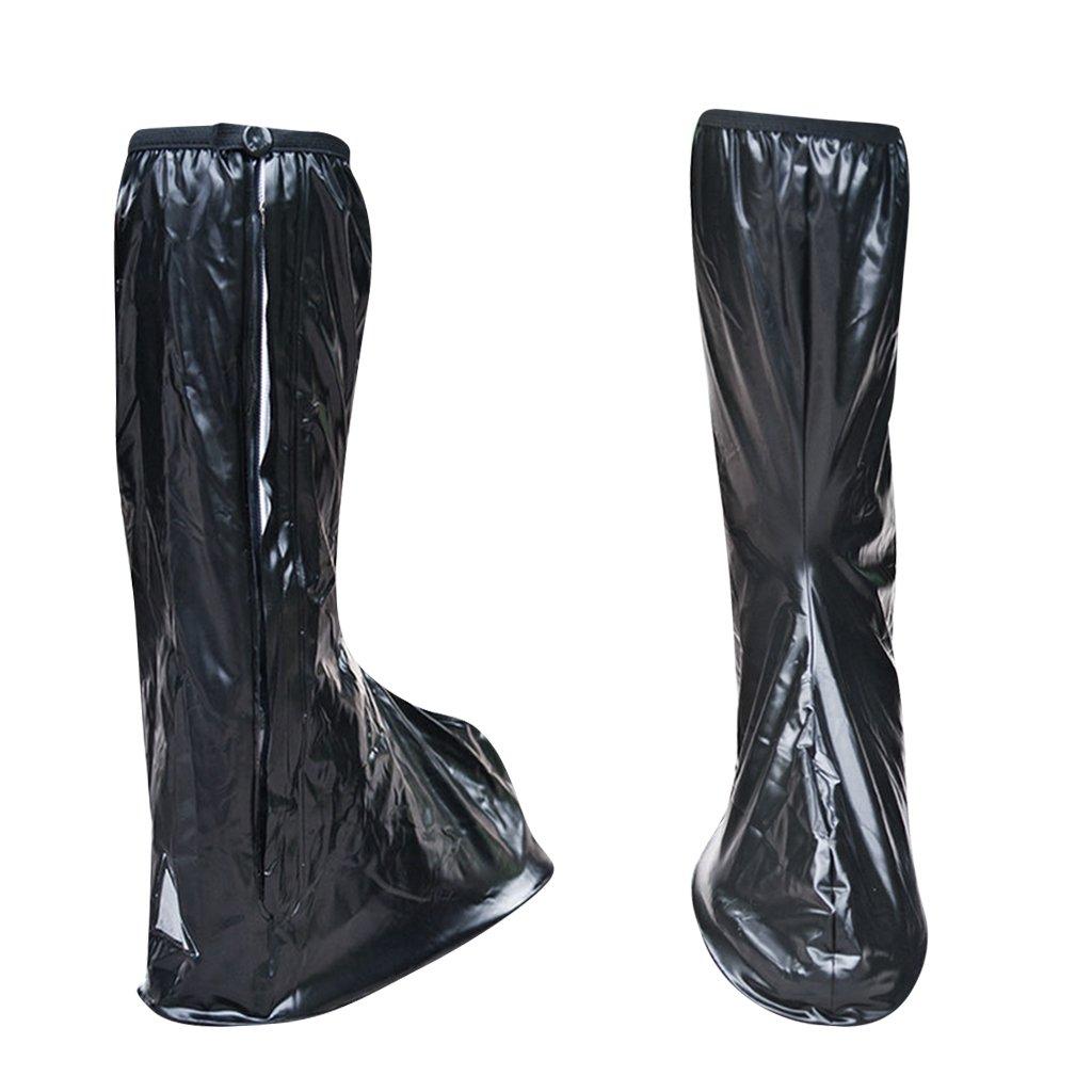 Baoblaze 1 Paire de Couvre-bottes Imperméable Guêtre Botte Pluie Imperméable Couvre Chaussures Unisexe