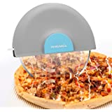 Remunkia Handheld Pizza Cutter Wheel with Protective Blade Guard Super Sharp and Easy To Clean Slicer cutter