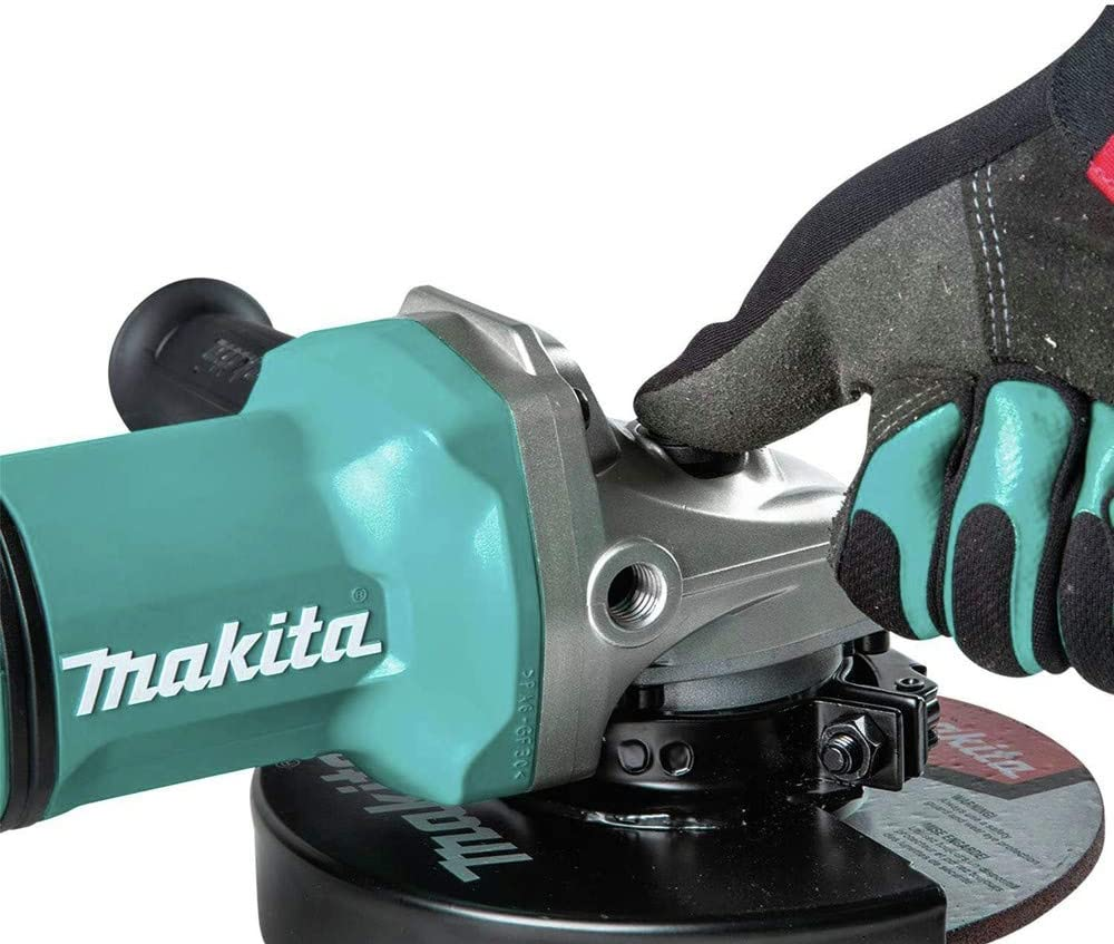 with Electric Brake Paddle Switch Cut-Off//Angle Grinder Brushless Cordless 7 in Tool Only Renewed 36V Makita XAG12Z1-R 18V X2 LXT Lithium-Ion