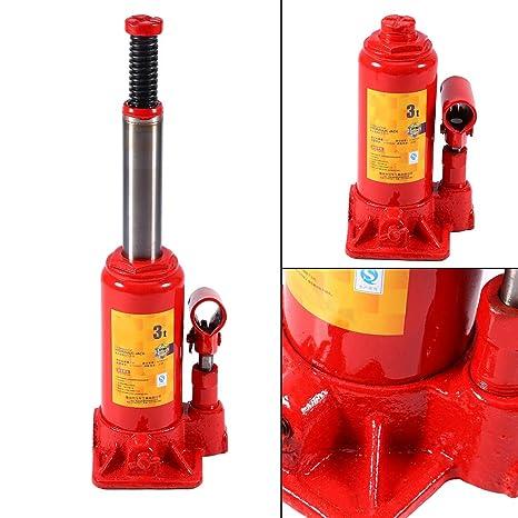 SKIESOAR – Gato hidráulico de Botella (3 toneladas)/8 toneladas – Gato hidráulico