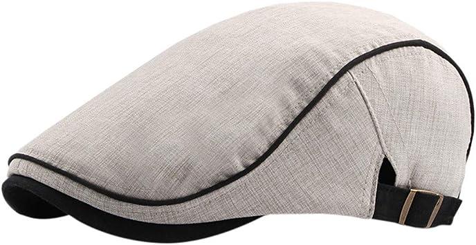 Chshe®-Sombrero Hombre Cálido Y Confortable Boinas De Hombre ...